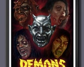 Demons Fan Art Movie A3 P...