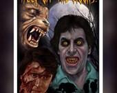 American Werewolf In London - Fan Art - Greeting Card