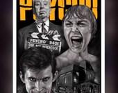 Psycho 1960 Movie - A5 Si...