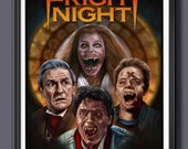 Fright Night 1985 Fan Art...