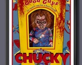 Chucky in Box Fan Art - A...