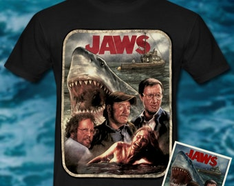 05234ec72b3f82 Jaws Art Inspired - T-shirt
