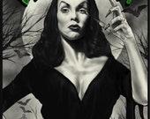 Vampira Maila Nurmi - A3 Print