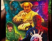 Creepshow - Stephen King  Short Stories 1982 - George A Romero - Art Inspired - Soft Plush Cushion Cover