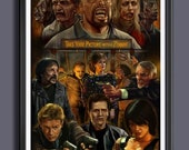 The Land of The Dead 2005 Movie, George A Romero - Fan Art Movie Print - A 3 Size