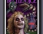 Beetlejuice Fan Art - A3 ...