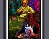 Creepshow 1982 - Stephen King - Fan Art - A3 Print