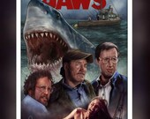 Jaws The Movie -  Fan Art...