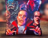 The Monster Squad - Movie 1987 - Universal Monsters- Soft Plush Cushion Cover