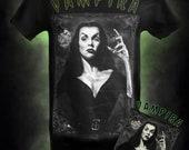 Vampira Cult Vampire - Maila Nurmi -  T-shirt