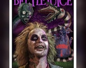 Beetlejuice Fan Art - A5 ...