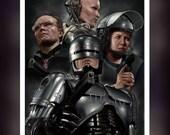 RoboCop 1987 Movie -Alex Murphy - A5 Size Greeting Card