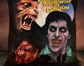American Werewolf in London - Edward Naughton - John Landis - Soft Plush Cushion Cover