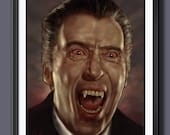 Christopher Lee  Dracula ...