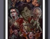 Dawn Of The Dead - Movie - George A Romero -  A3 Art - Print