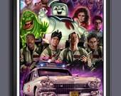 Ghostbusters 1984 - Fan Art - A3 Print