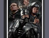 RoboCop 1987 Movie - Alex Murphy - Fan Art - A3 Print