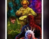 Creepshow - Stephen King - Fan Art A5 Size Greeting Card