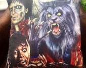Michael Jackson - Thriller - Ola Rey - Werewolf -Art-Inspired - Soft Plush Cushion Cover