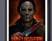Halloween Tyler Mane - Fan Art - A3 Print