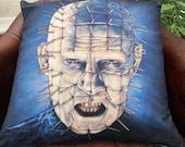 Hellraiser - Pinhead - Art - Inspired - Soft Plush Cushion Cover