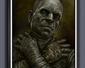 The Mummy - Universal Monsters 1932 - A3 Size Art Print