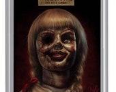 Annabelle (Doll) Fan Art A5 Size Greeting Card