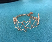 copper wire bracelet, cop...
