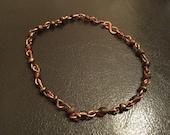 Handmade copper bracelet ...