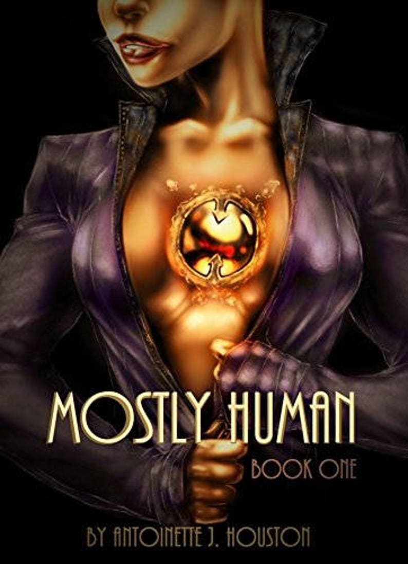 Mostly Human series Space opera trilogy Signed Paperback image 0