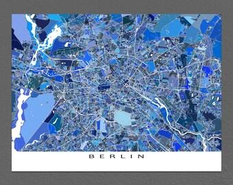 Nuremberg Map Print Nuremberg Germany Europe City Map Art Etsy