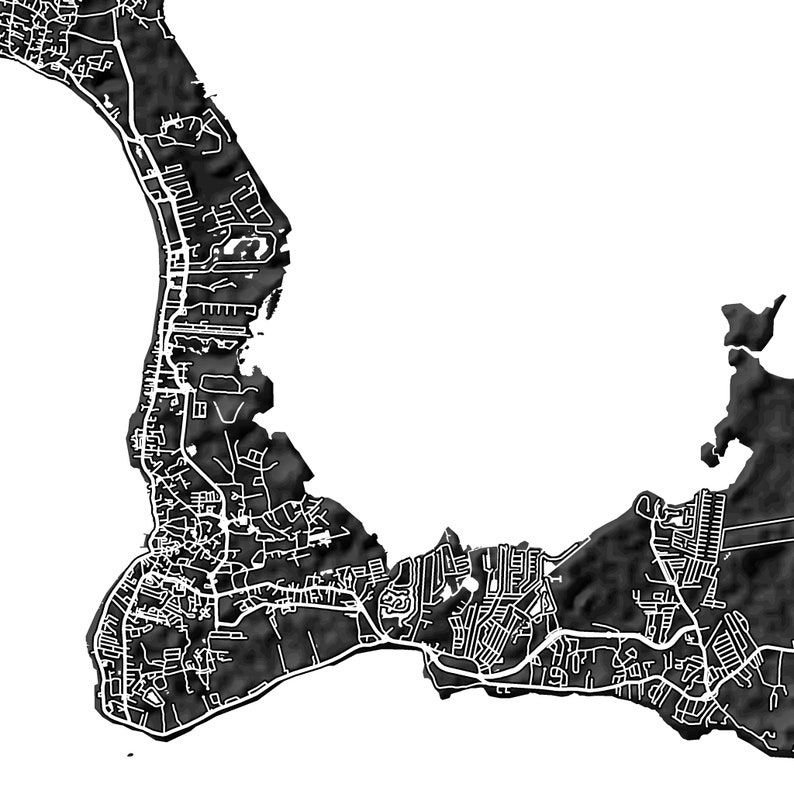 It is a picture of Ambitious Printable Map of Grand Cayman