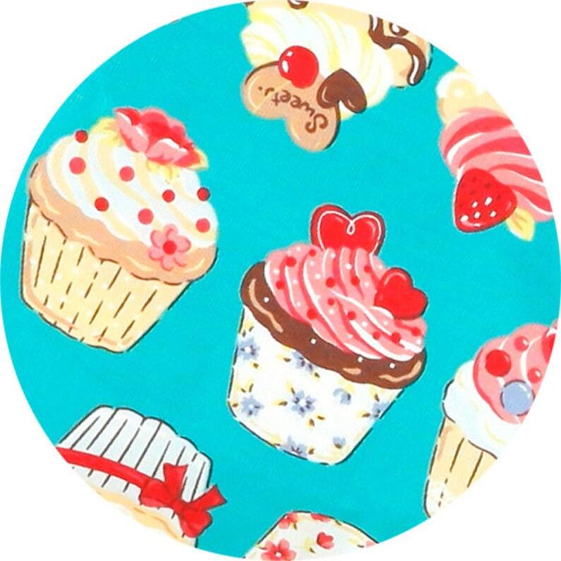 Cupcake Dress Girls Dress Birthday Party Dress Teal Dress Toddler Dress Sweet Girl Dress Fairy Dress Cute Dress Kawaii Dress