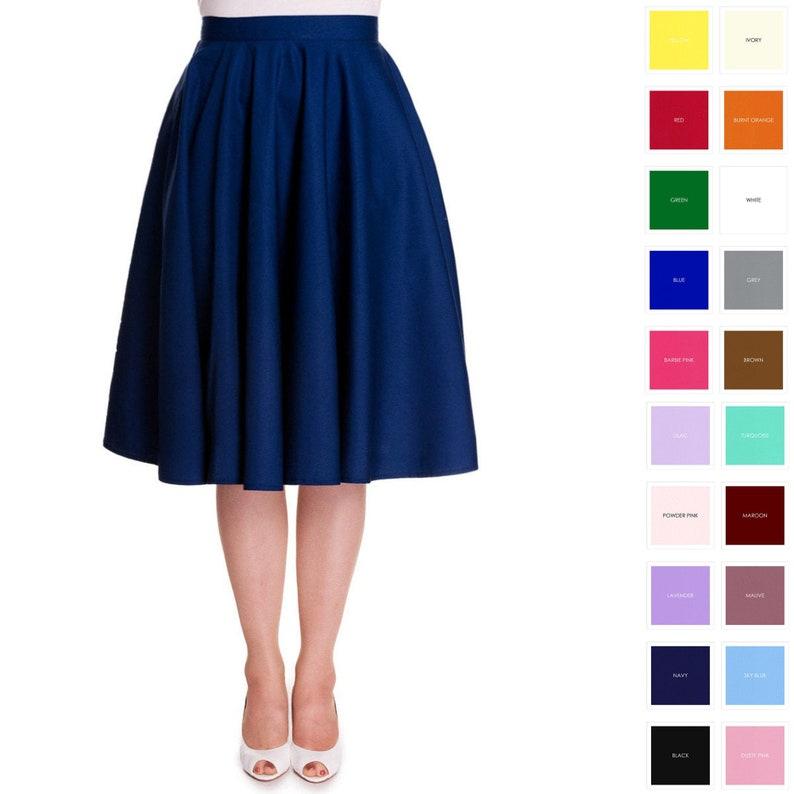 Full Circle Skirt Custom Made Skirt Made To Order Skirt with image 1
