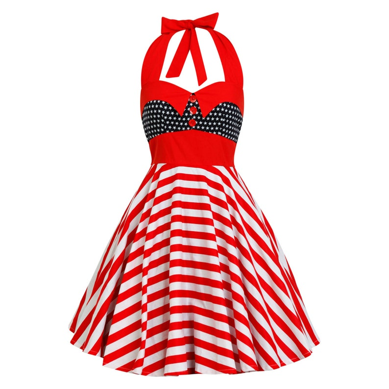 e2b48348034 Independence Day Dress 4th July Dress Patriotic Dress Red