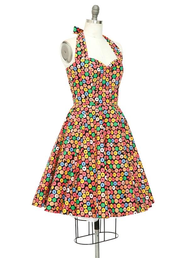 Donut Kleid Donut Kleid Geburtstag Kleid Pin Up Kleid Retro | Etsy