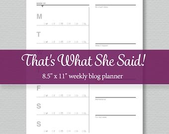 Goal Planner Printable Editable Pdf Standard Letter Size Etsy