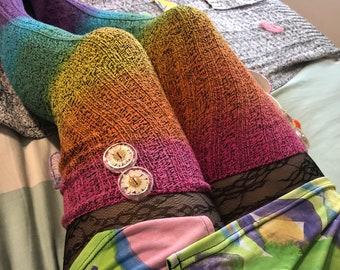 Socken hohe Regenbogen Oberschenkel Kaufen Sie