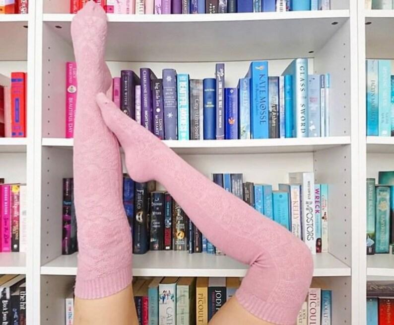 d99f6c69d Thigh High Socks Women s Long Over the Knee Socks Boot