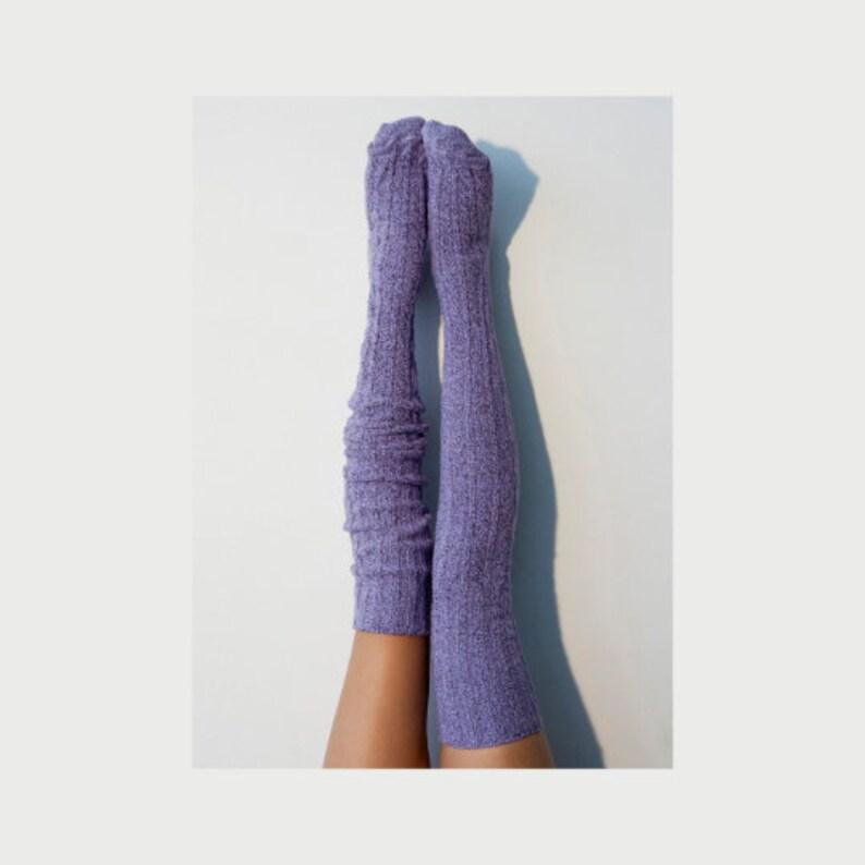 a8d4e0a4d Thigh High Socks Tall Over The Knee Socks Warm Cozy Cute