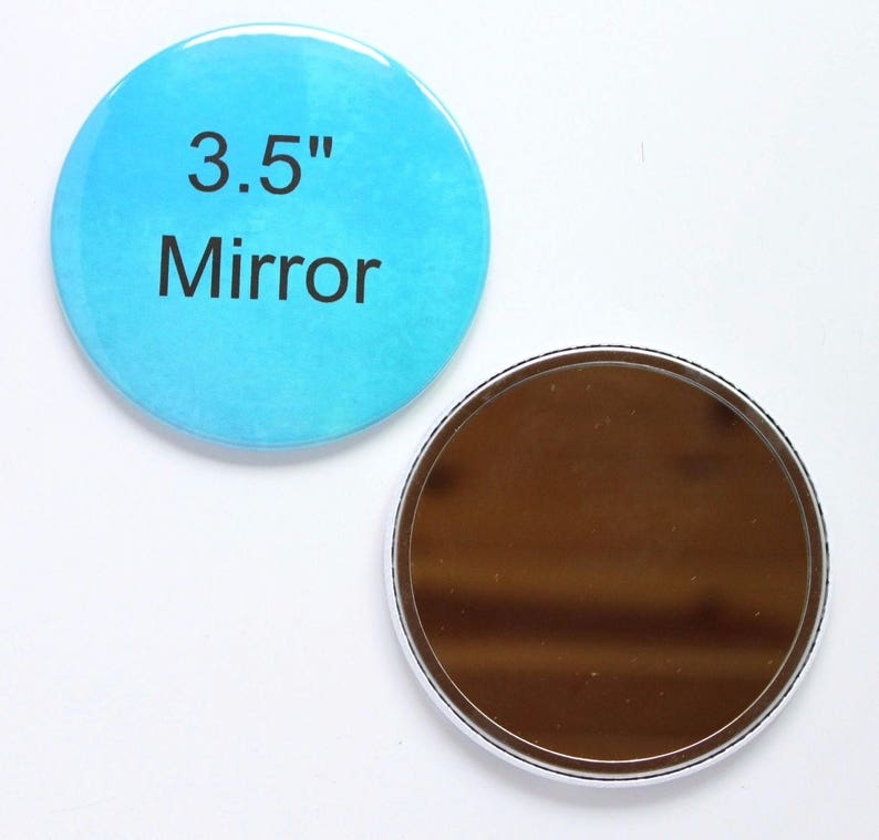 50 Complete Button Sets Tecre Button Press 3.5 Inch Mirror 3 12 Button Maker Machine Supplies Mirror Buttons