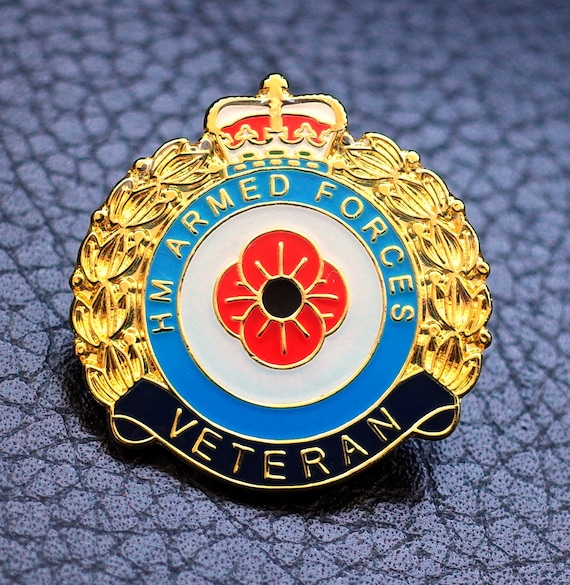 Poppy Lapel Pins Enamel Badge 2019 Collection Vintage Brooch UK US Army Military