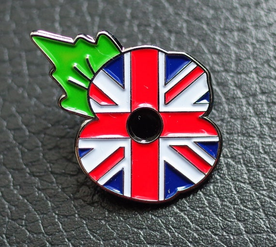 POPPY WREATH LAPEL PINS ENAMEL LEST WE FORGET BADGES 2019 BROOCH BRITISH US ARMY