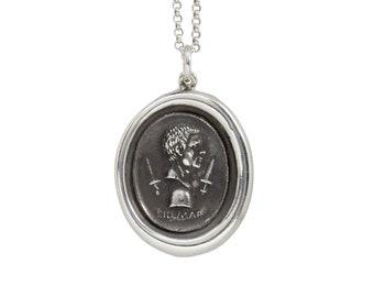 Brutus & Assassination of Caesar Wax Seal Pendant