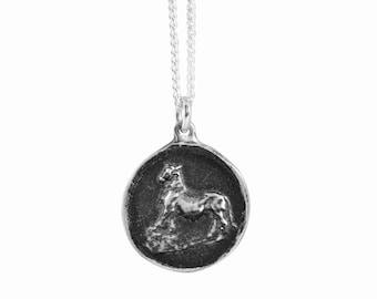 Taurus Zodiac Coin Pendant