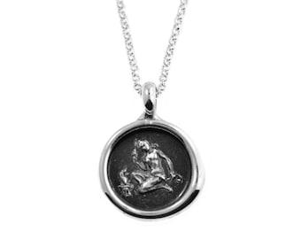 Virgo Zodiac Wax Seal Pendant