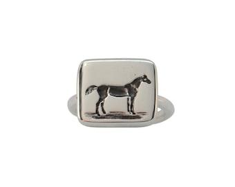 Horse Intaglio Ring