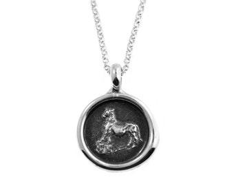 Taurus Zodiac Wax Seal Pendant