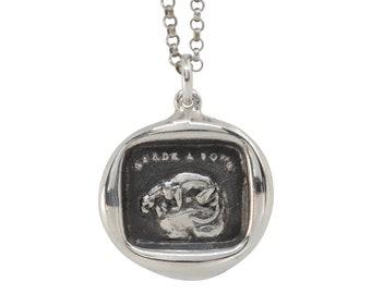 Panther Wax Seal Pendant