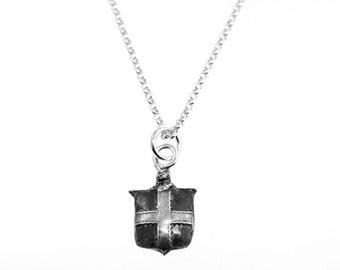 Engrailed Cross Shield